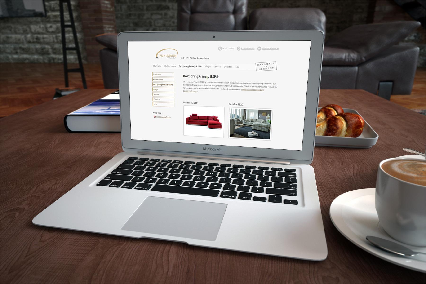 Puhlmann Polstermöbel - Homepage