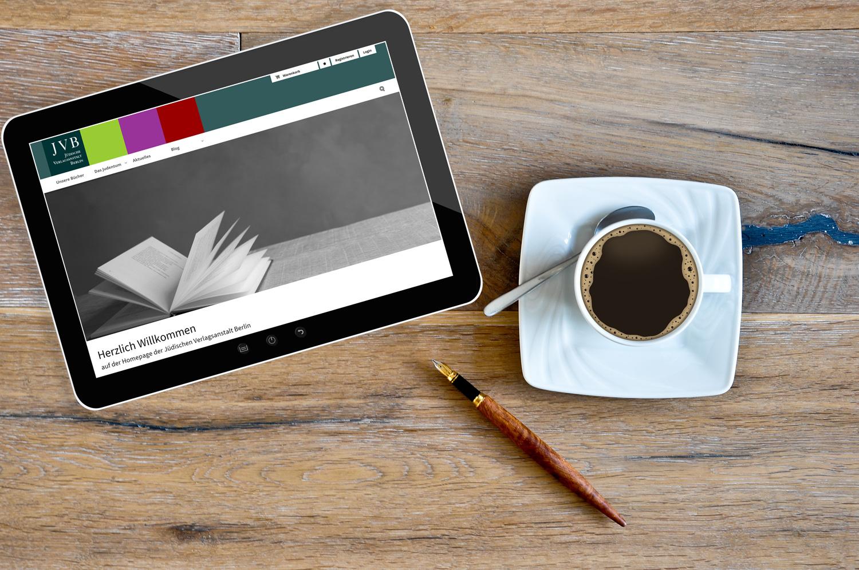 JVB - Jüdische Verlagsanstalt Berlin - Website